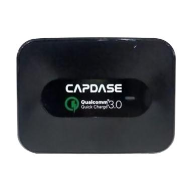 Capdase Ranger Wall Charger - Black [Quick Charger/3 USB]