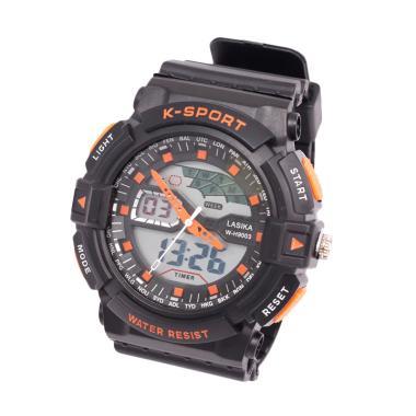 Lasika Digital Analog W-H 9003 Jam Tangan Unisex - Orange