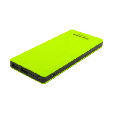 Delcell ECO Slim Powerbank - Green [10000 mAh/Real Capacity]