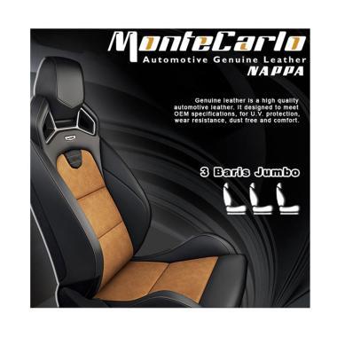 Montecarlo Nappa Jok Mobil [3 Baris Jok Jumbo]