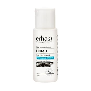 Erha 1 Facial Wash for Normal & Dry Skin Pembersih Wajah
