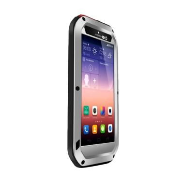 huawei ascend p7. love mei powerful casing for huawei ascend p7 - silver