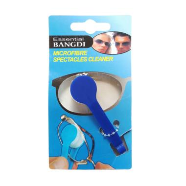 Jasmine Microfiber Pembersih Lensa Kacamata - Biru