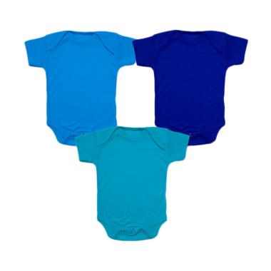 Miabelle Bodysuit Set Pakaian Anak - Ocean Sky [3 Pcs]