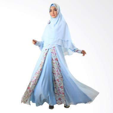 Nines Group NWS Moeslem Annasya 11 Dress Muslim - Biru