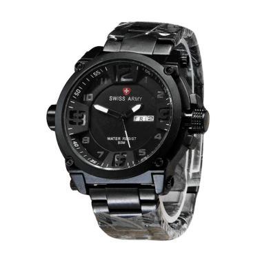 Swiss Army SA7169 SA Jam Tangan Pria - Silver