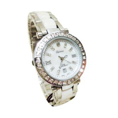 Tetonis T964 Jam Tangan Fashion Wanita - Silver