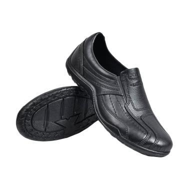 ATT Pantofel [ Slip On ] Sepatu Pria Karet Anti Air AB375 - Hitam