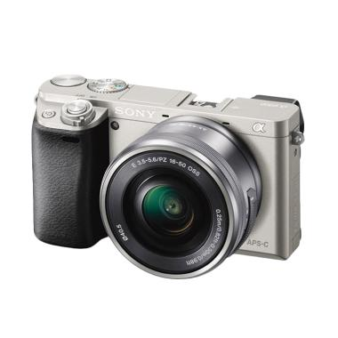 Sony Alpha 6000 Kit 16-50mm Kamera Mirrorless - Silver