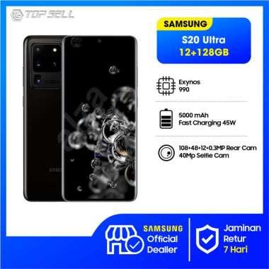 harga Samsung Galaxy S20 Ultra Smartphone [128GB/ 12GB] BLACK Blibli.com