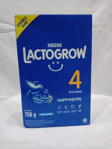 Nestle Lactogrow 4 Susu Formula - Vanilla 750 g