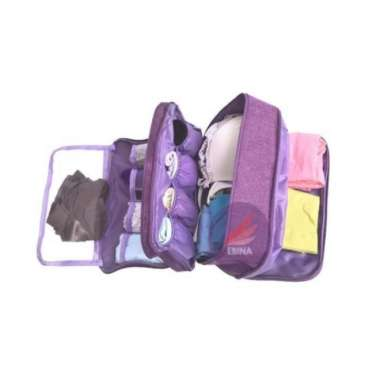 harga New Bra Underwear Pouch Travelling Organizer -Tas Tempat Simpan BH CD F427 Murah Blibli.com