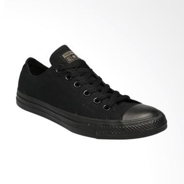 Converse CT AS Canvas OX Mono Sepatu Pria - Black