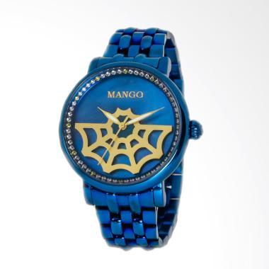 Mango MA1002L-55 Jam Tangan Wanita - Biru