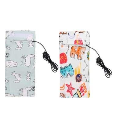 harga Sarung Botol Susu Bayi Portabel dengan USB untuk Outdoor Semua Ukuran Multicolor Blibli.com