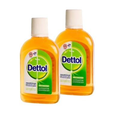 Dettol Antiseptik Cair [95 mL/ 2 Botol]