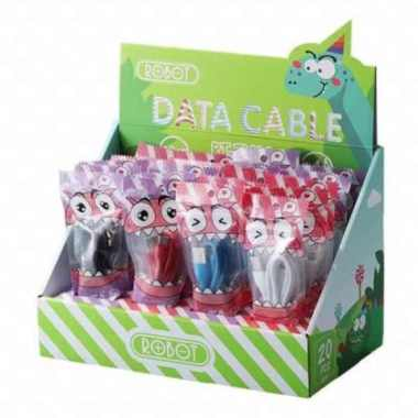 Jual Robot RT-TL100 RTTL100 Kabel Data Cable Type-C Dan Lightning iPhone - Iphone Murah
