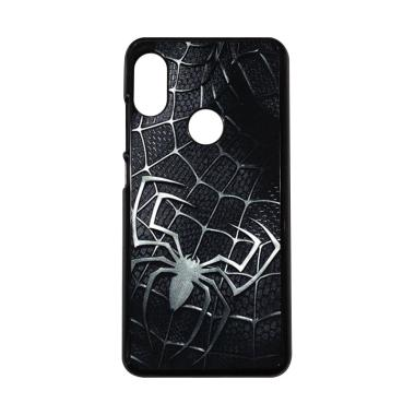 harga CARSTENEZIO Motif Superhero Spiderman 14 Casing for Xiaomi Redmi Note 6 Pro - Hitam Blibli.com