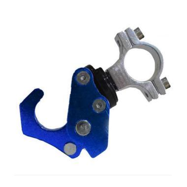 harga Raja Motor Model Lipat CNC Gantungan Tas Aksesoris Motor - Biru biru Blibli.com