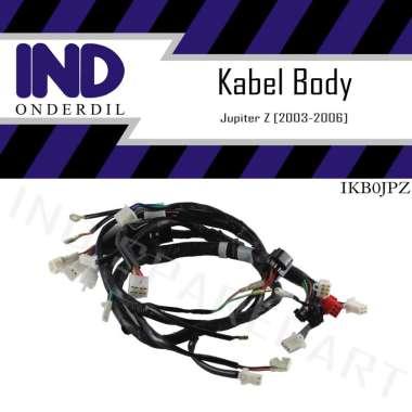 harga IND Onderdil Kabel-Cable-Kable-Cabel Body-Bodi Jupiter Z Lama-Old-Burhan 2003-2004-2005-2006 HItam Blibli.com