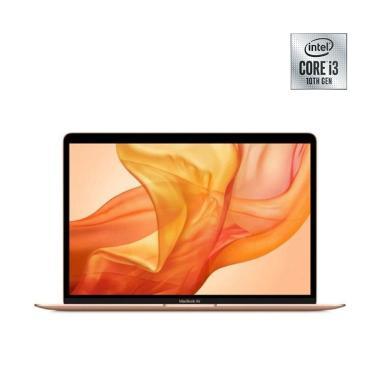 Apple Macbook Air 2020 MWTL2ID/A Notebook - Gold [1.1Ghz Dual Core i3 10th gen/ 8GB / 256GB / 13 Inch] -