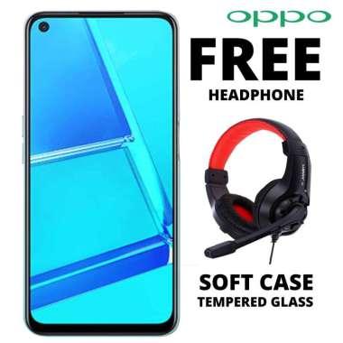 harga Oppo A53 4-64 GB Free Headphone  Hitam Blibli.com