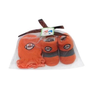 Chloebaby Shop S204 Mitten Booties Baseball Set Kaos Kaki Bayi