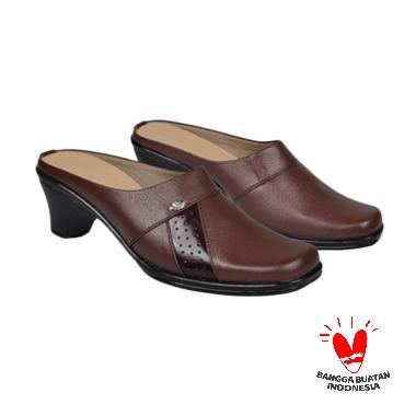 Java Seven Bustong Gissa Kulit JUP 101 Sandal Heels Wanita