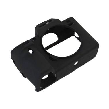 OEM Silicone Rubber Case for Sony A7ii/A72/A7R2/A7RII - Hitam