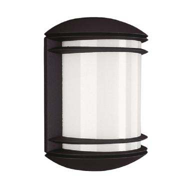 Philips 01465 Wall Lantern Lampu Taman - Black [60 W/230 V/1 pcs]