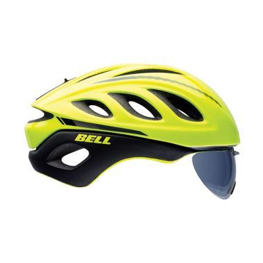 Bell Helmet BS Star Pro Shield Ret Sear MRKR L 15 US Helm Sepeda - Green 7056357