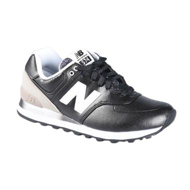 New Balance Women'S Lifestyle 574 R ... rs Shoes - Black WL574RAA