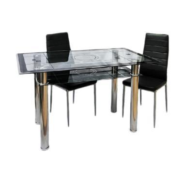 Best Furniture IMP-DSK09 Meja Makan Minimalis [130x80 Cm]