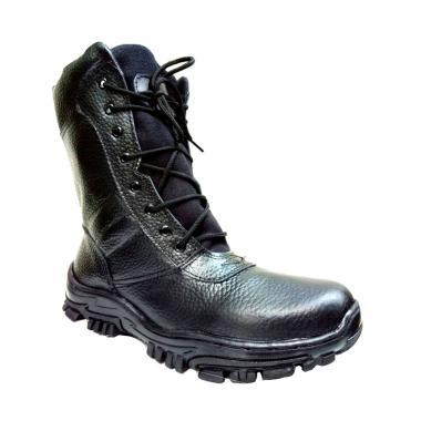 Mandien's PDL TNI Mile Sepatu Boots Pria - Hitam