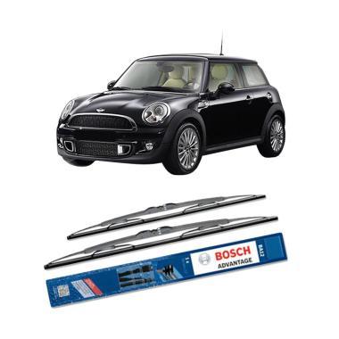 Bosch Advantage Wiper Kaca Depan Mobil for BMW Mini R 56