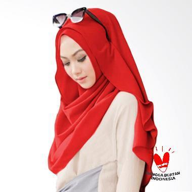 Milyarda Hijab Belle Pashmina Instant - Merah