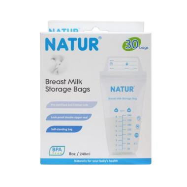 Natur Breastmilk Storage Bag [240 mL/ isi 30 kantong ASI]
