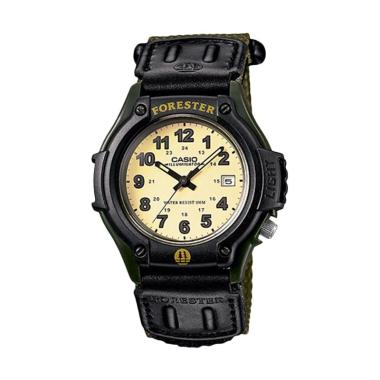 CASIO FT-500WC-3BVDF Forester Jam Tangan Pria - Green Black