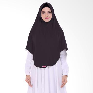 ilyarda Hijab BERGO L Pashmina Instant - Black