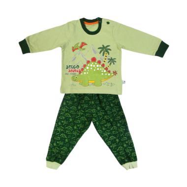 Tokusen Stegosaurus Baju Tidur Anak - Green