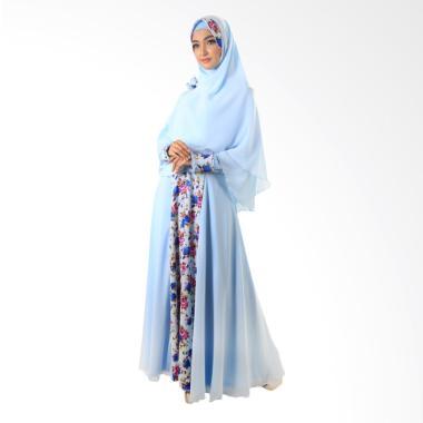 NWS Moeslem Annasya 09 Dress Muslim - Biru