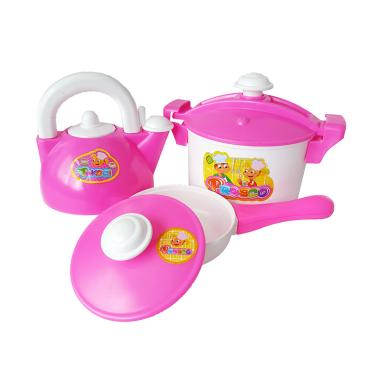 Ocean Toy OCT2022 Dapur Idaman Set Mainan Anak - Pink