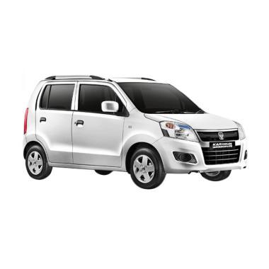 Suzuki Wagon R Airbag 1.0 GL M-T Mobil - Pearl White