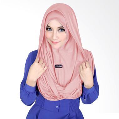 Milyarda Hijab Sosor Twist Kerudung - Dusty Pink