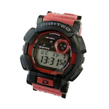 Digitec  Jam Tangan Pria Sporty - O ... -87623-KJ - Bonus Baterai