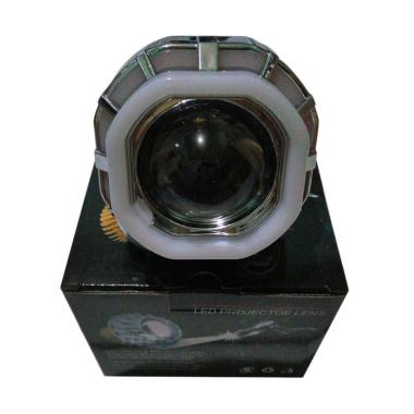 Monster U8 Double Lampu LED Projector Kotak [Ae+De/COB Cree]