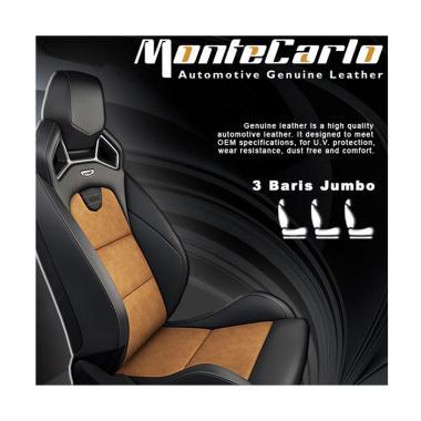 Montecarlo Serat Jok Mobil [3 Baris Jok Jumbo]