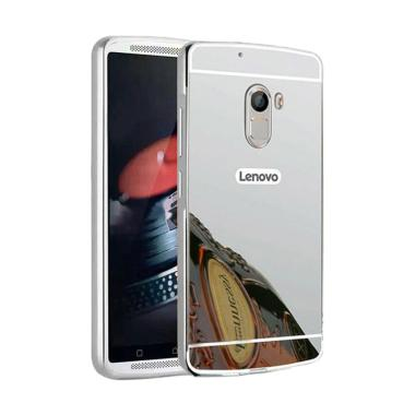 OEM Bumper Mirror Sliding Casing for Lenovo K4 Note A7010 - Silver