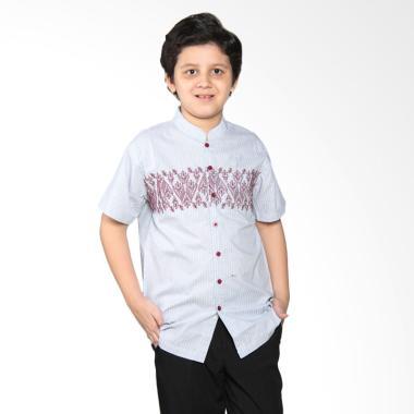 Versail Kids Juenes Pm 7033 Baju Koko Anak - Strimin Red