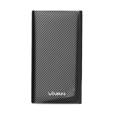 Vivan W9 Powerbank - Black [9000 mAh/Garansi Resmi 1 Tahun]